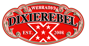 Logotipo WEB RÁDIO Dixie Rebel